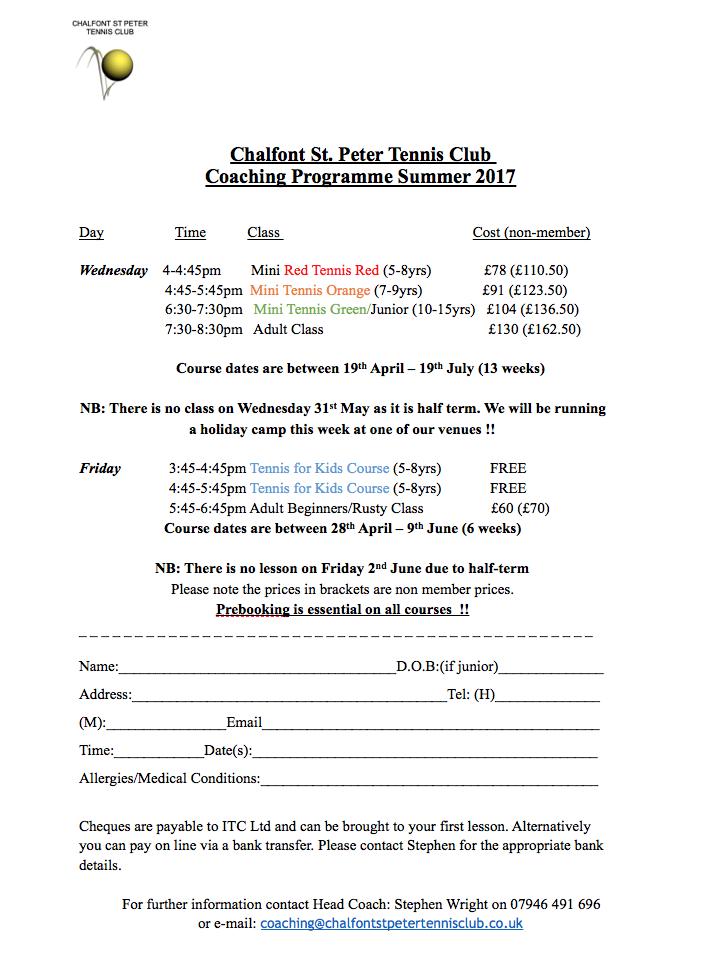 chalfont-st-peter-tennis-club-summer-tennis-coaching-programme